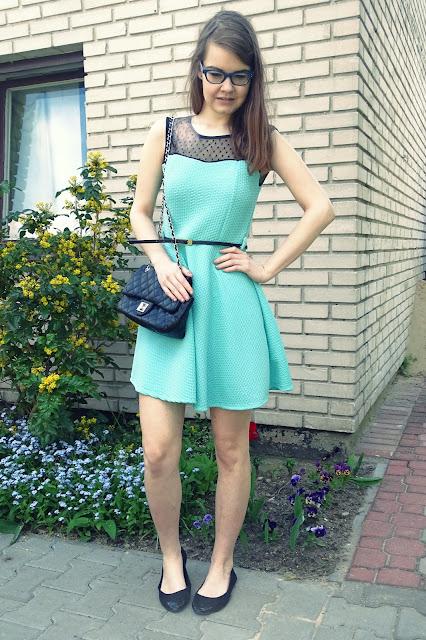 Moja druga sukienka studniówkowa- stylizacja :*
