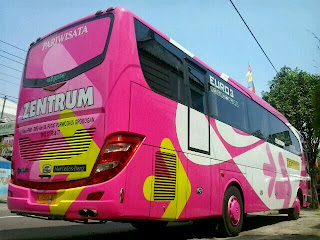 Rear View Trans Zentrum Jetbus