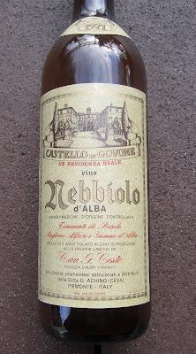 Wine - Castello Govone Nebbiolo