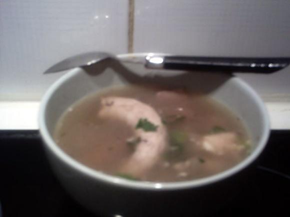 Soupe D'Abats De Poulet