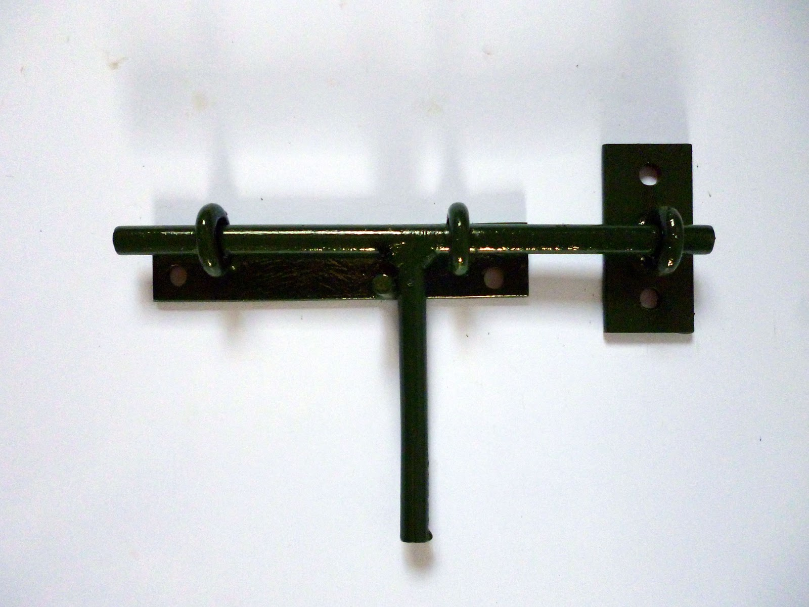 Pasador horizontal liviano y reforzado herreria y - Pasadores para puertas ...