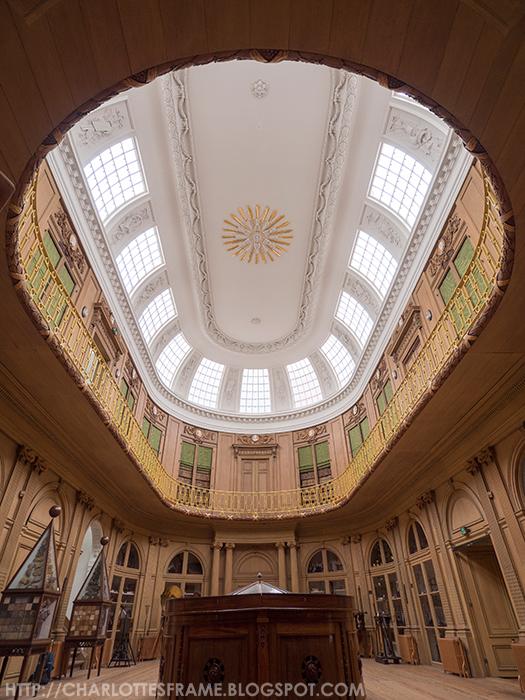 Ovale Zaal Teylers Museum, Teylers Museum oval room,