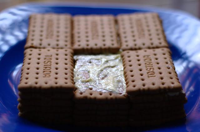 Pastel de Chocolate y Galletas Thermomix