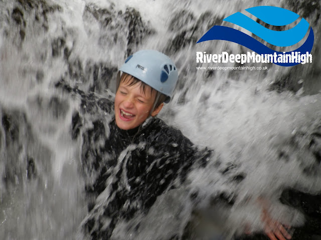 This is nothing like Chemo! Gorge Walking in the Lake District