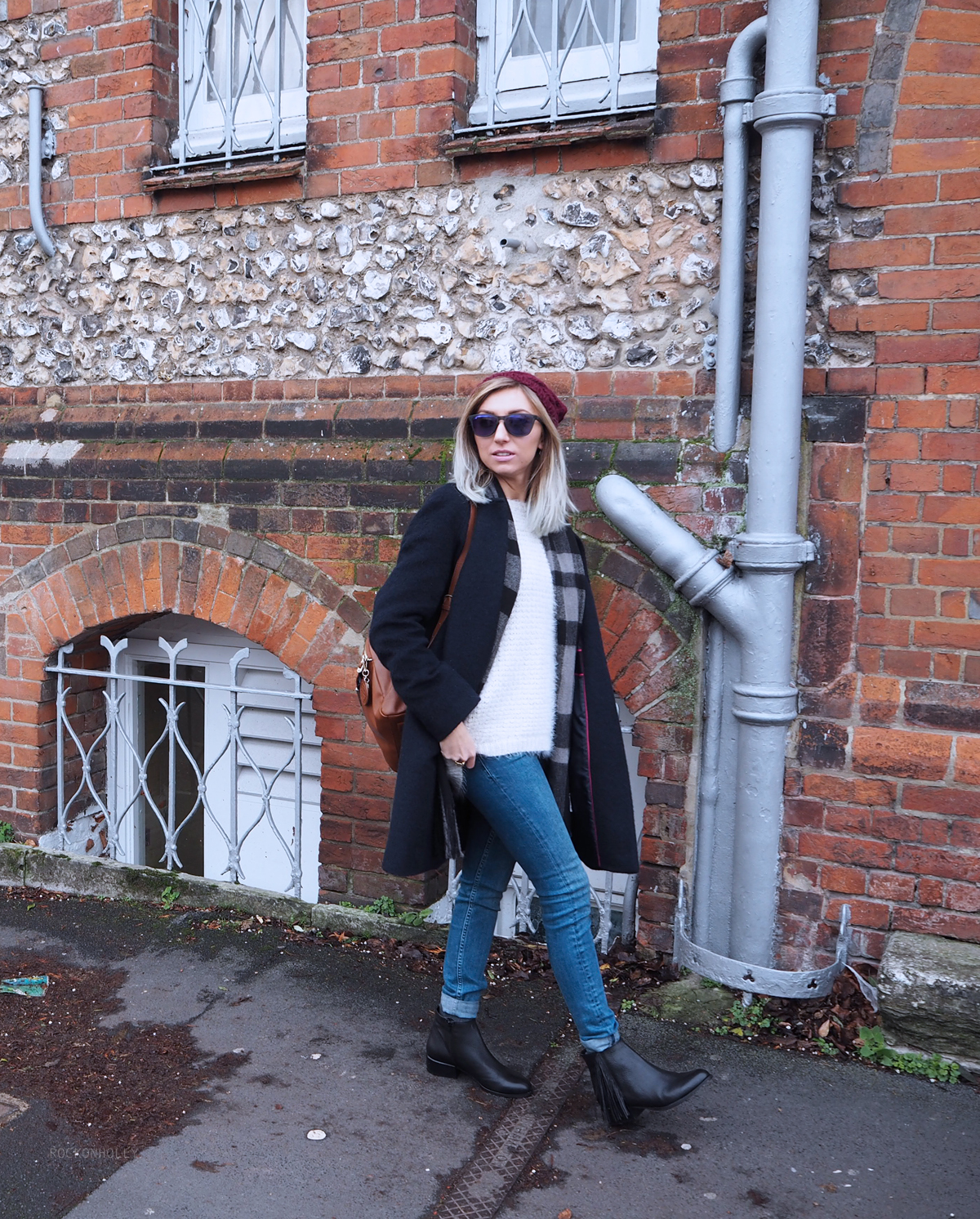 Boden Coat and Winter Styling on Rock On Holly