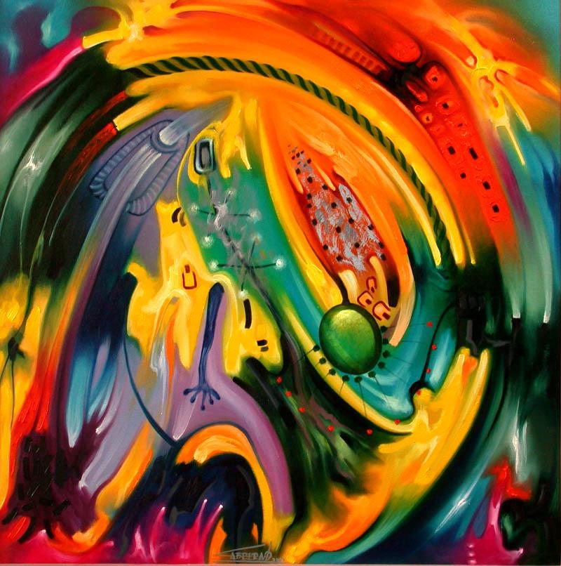 El club del arte latino cuadros abstractos modernos - Fotos cuadros modernos ...