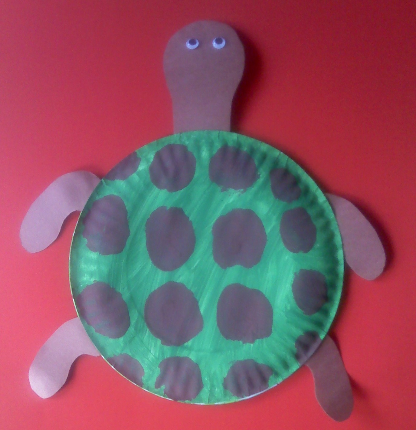 Crafts for preschoolers paper plate sea turtle for Paper plate craft images