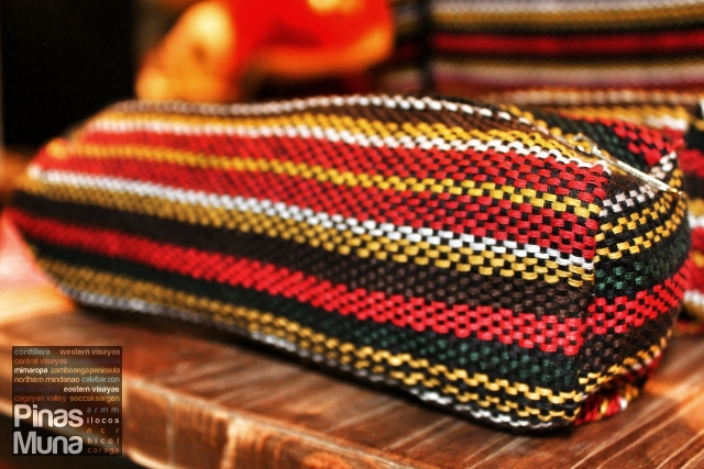 Ifugao-inspired pen case made by the Indigenous People of Cotobato and local communities in Metro Manila under the guidance of NNJ Crafts