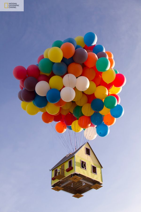 disney pixar up house. girlfriend House from Up pixar