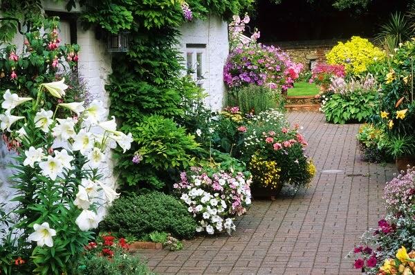 Arte y jardiner a dise o de jardines el jard n r stico 2 - Diseno de jardines rusticos ...
