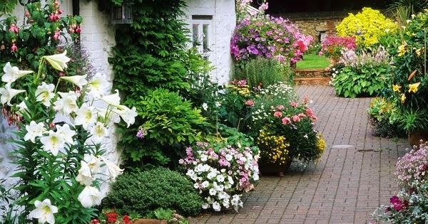 Arte y jardiner a dise o de jardines el jard n r stico 2 - Bordes para jardines ...
