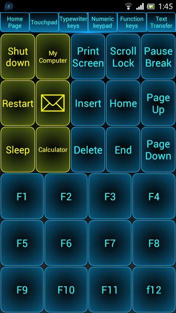Biến Android thành thiết bị điều khiển từ xa… cho máy tính