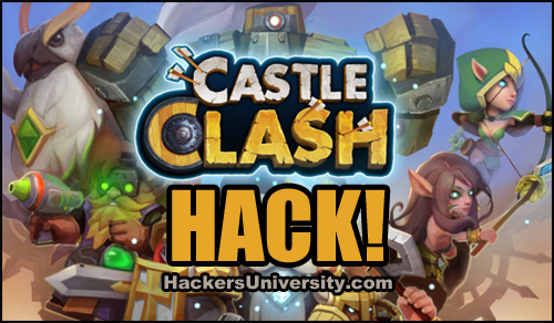 Enjoy this hack tool and become the best Castle Clash player!