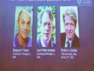 Robert J. Shiller; Lars Peter Hansen; Eugene Fama