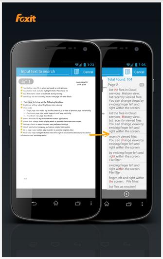 Ứng dụng đọc file PDF miễn phí trên Android Foxit MobilePDF