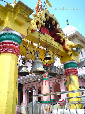Temples on the Vishram Ghat in Mathura
