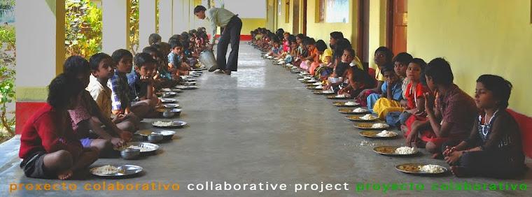 proxecto de colaboración ESCOLAS DO MUNDO