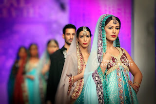 Shaiyanne Malik Collection in Karachi Bridal Couture Week 2011