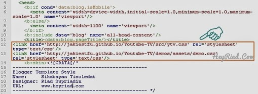 Memasang video youtube di posting blog