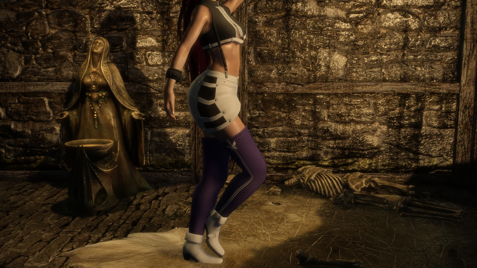 Ayane Intimate Outfit Skyrim