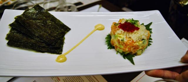 EDO-Ko Japanese Cuisine Restaurant in Toronto, barry Chaim, Executive Chef Ryo Ozawa, award, winning, winterlicious, sushi, seiyo-ryori, review, food, the purple scarf, melanie.ps, ontario, canada