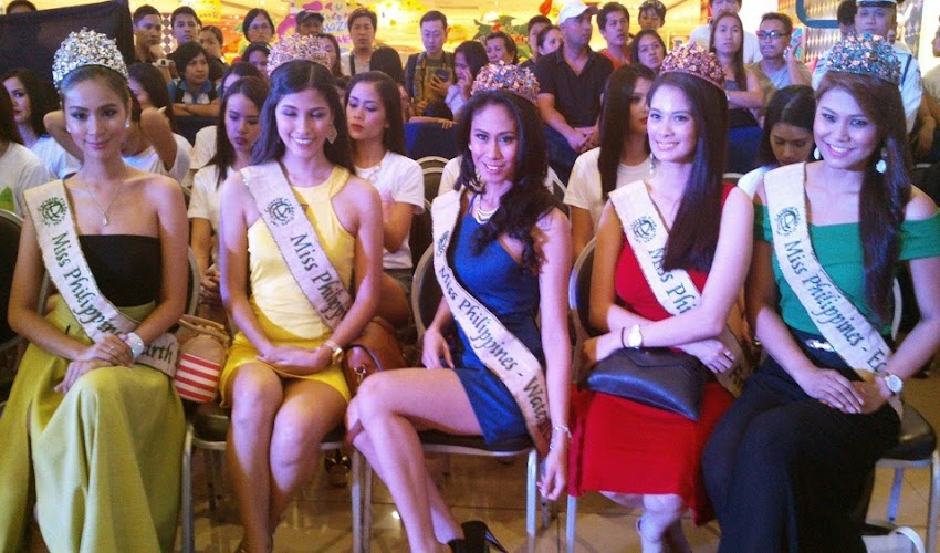 Miss Philippines Earth 2014 Kicks off at SM Supermarket Megamall