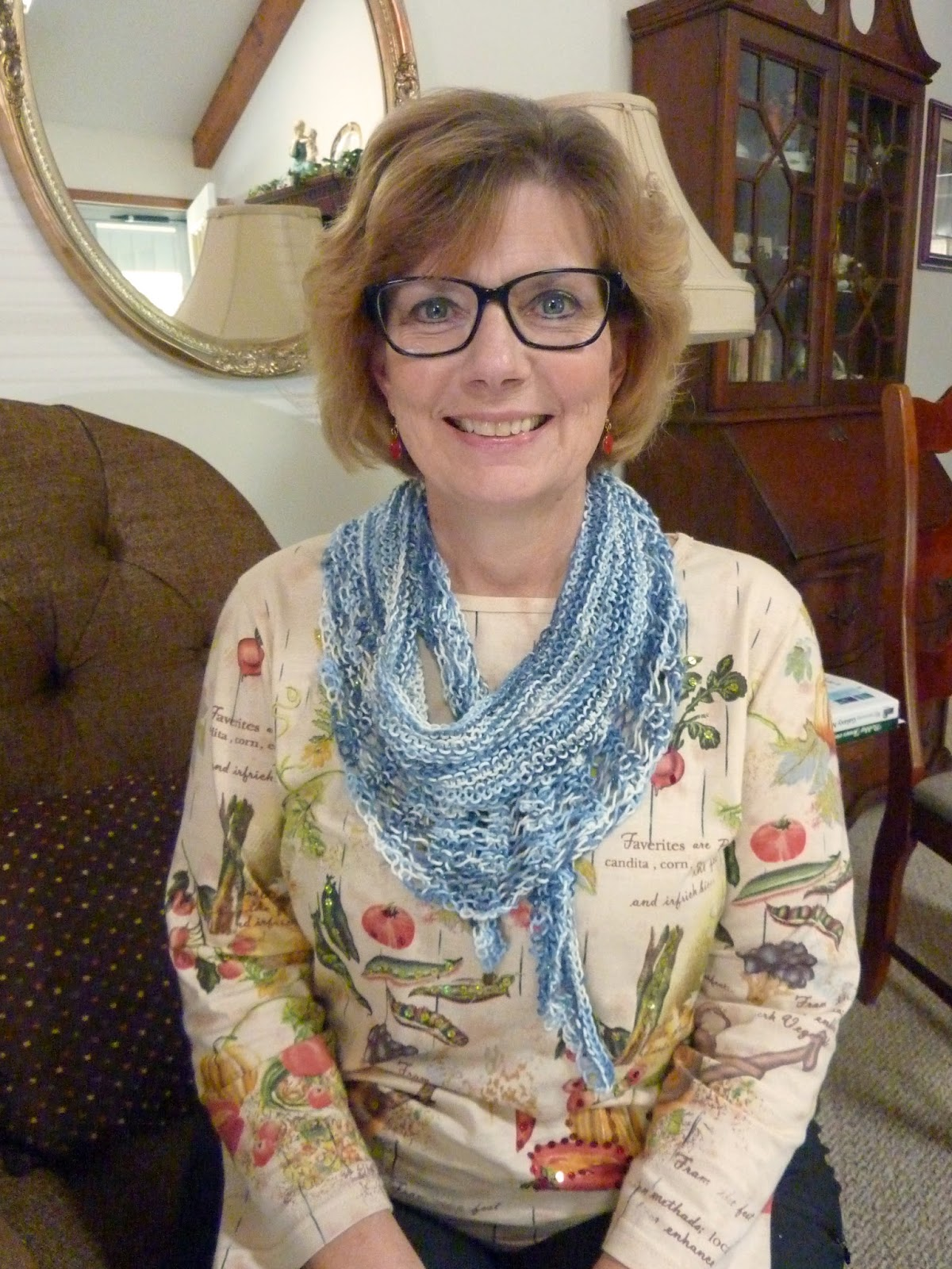 Knitting Pattern For Gallatin Scarf : Spinning Memories - Knitting Love: Early Christmas Gifts ...