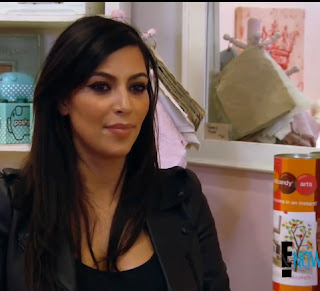 Nursery Art Spotting During Kim Kardashian's Baby Shopping