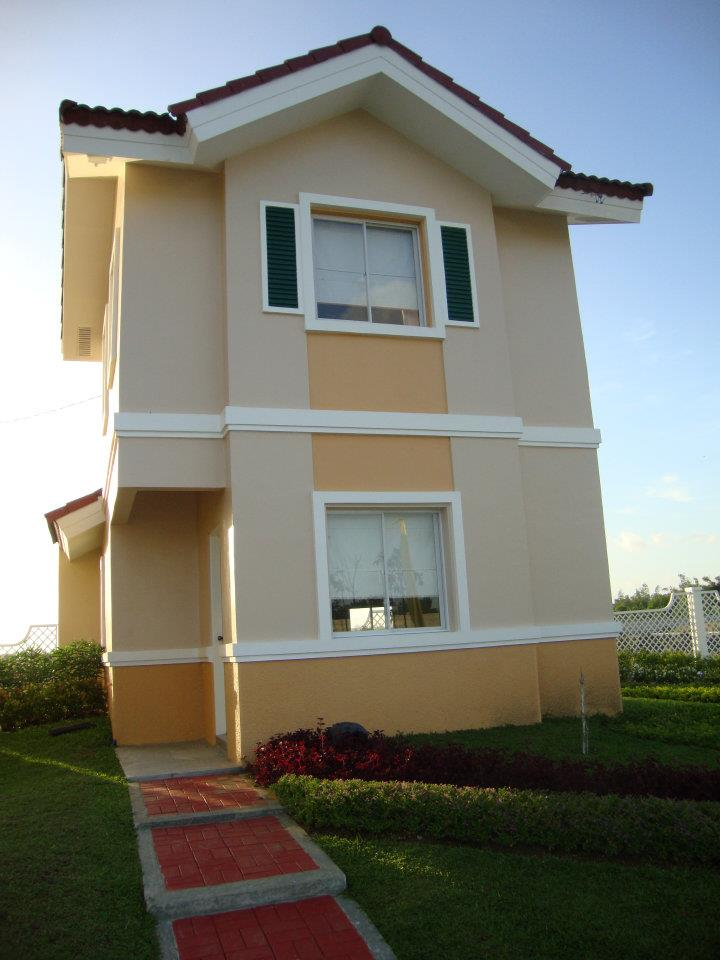 Marvela model house of camella home series iloilo by for Houses models