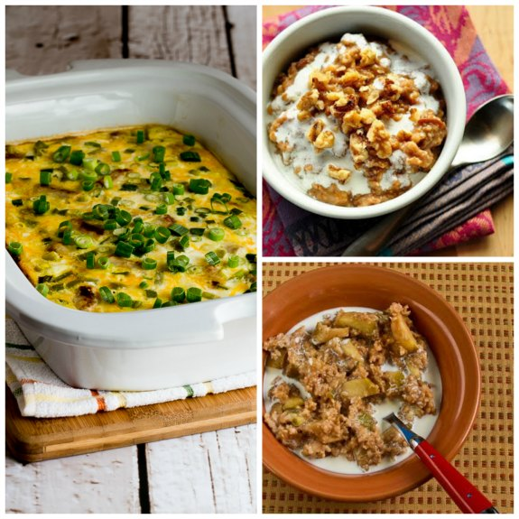 Top 20 Slow Cooker Breakfast Recipes (plus Honorable Mentions) found on SlowCookerFromScratch.com