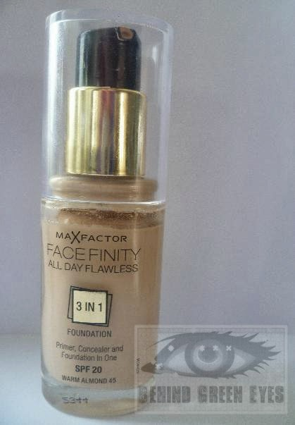 max factor 3 in 1 foundation warm almond