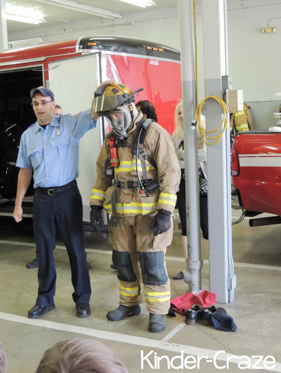 visit a fire station during Fire Safety Month