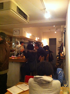 An evening at La Cocina del Cuatro, Spanish-style bar in Koenji, Tokyo.