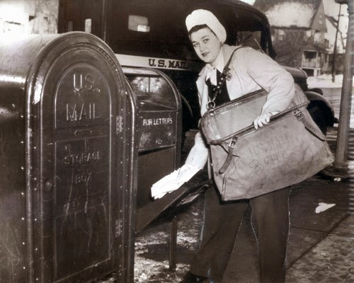 Flashback Summer: New Emails! - First Female Mail Carrier in Chicago, 1944