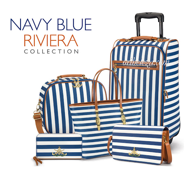 Coleção Navy Riviera da Oriflame