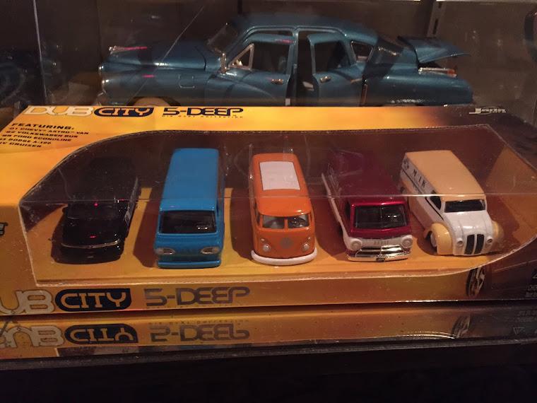 Set of Five Vans ~