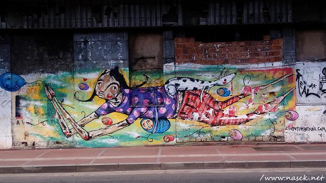 Grafite fotografado por Nasck na Baixa do Sapateiro Salvador Bahia