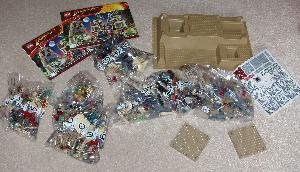 LEGO Indiana Jones Kingdom of the Crystal Skull contents.