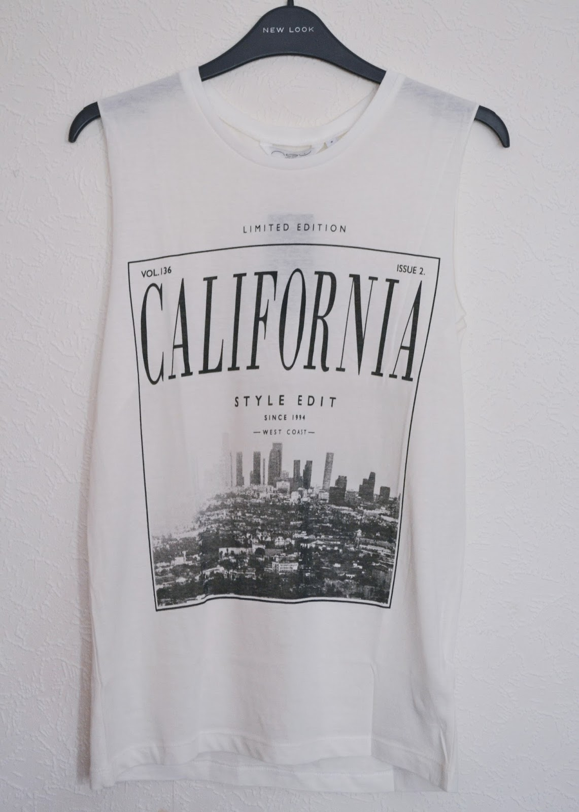 new look california tank top