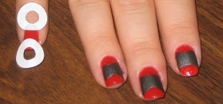Red Asian Manicure Tutorial
