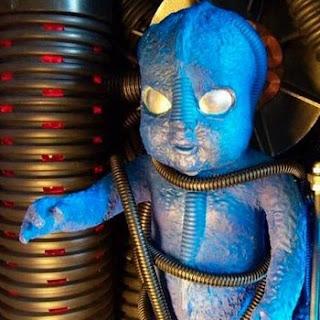 Muñeco alienigena