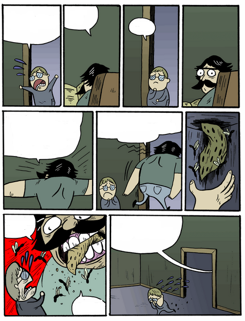 Ой папуля порно комикс