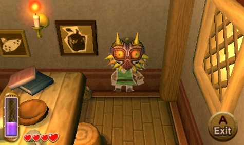 The Legend of Zelda : Majora's Mask, Nintendo 3DS, Nintendo, Actu Jeux Video, Jeux Video, Grezzo,