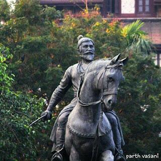 छत्रपति शिवाजी महाराज Statue at Gateway Of India