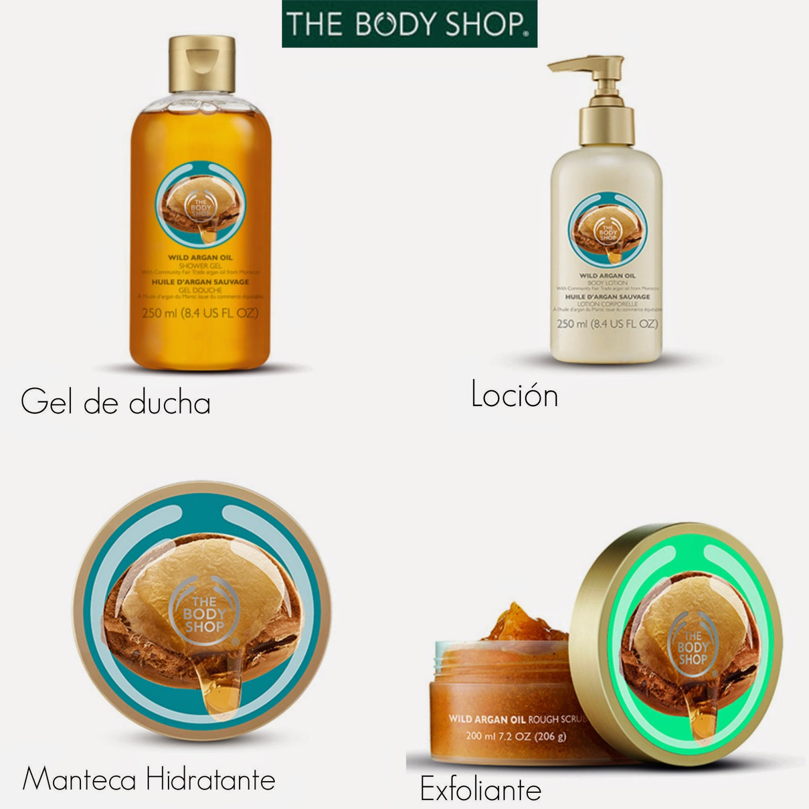 Productos Argán Body