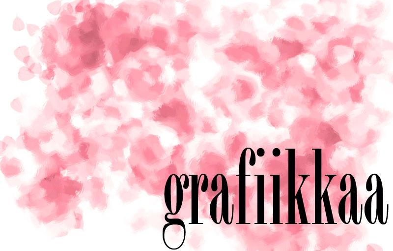 Grafiikkaa, suttua, pinkkiä