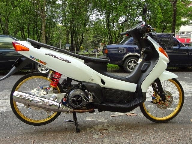 Modifikasi Motor Yamaha Nouvo 2003 Nouvo Lele Modifikasi Motor Matic