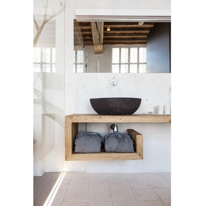 Badkamer Beton Interieur ~ All About Interieur Inspiratie Blog Badkamer hout  interieur