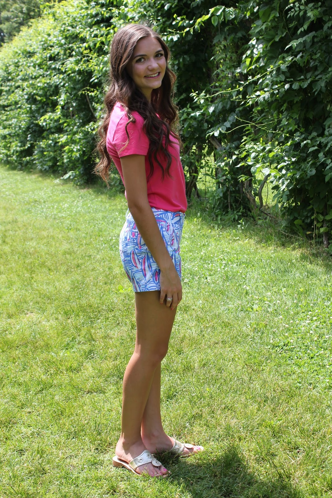 fashion friday new lilly shorts anchors and pearls