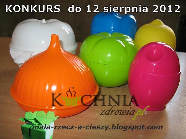 Konkurs do 12 sierpnia 2012 oraz testowanie pojemnika do gotowania jaj w kuchence mikrofalowej w ramach współpracy z Kuchniazdrowia.pl